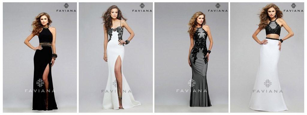 Maturantske obleke Faviana