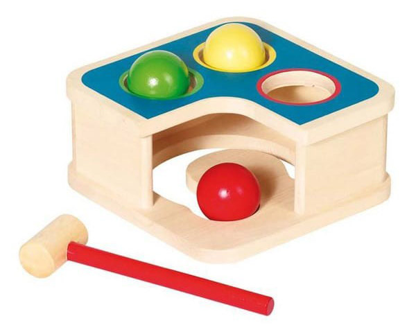 Lesena igrača - tolkač