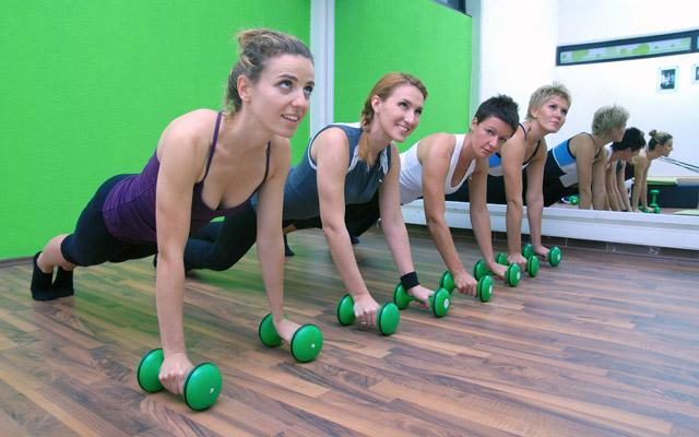 Skupinska vadba za ženske
